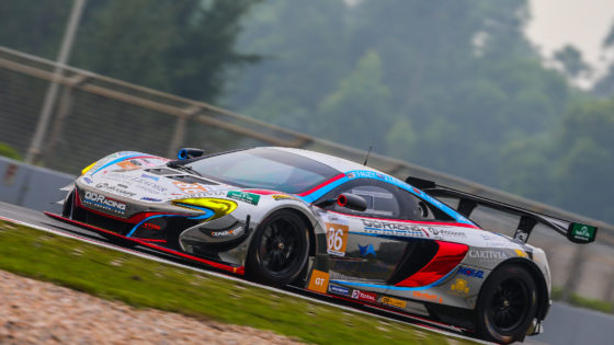 Jono Lester in the OD Racing McLaren 650S GT3