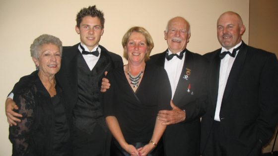 The Lester family at the 2007 NZ Motorsport Awards