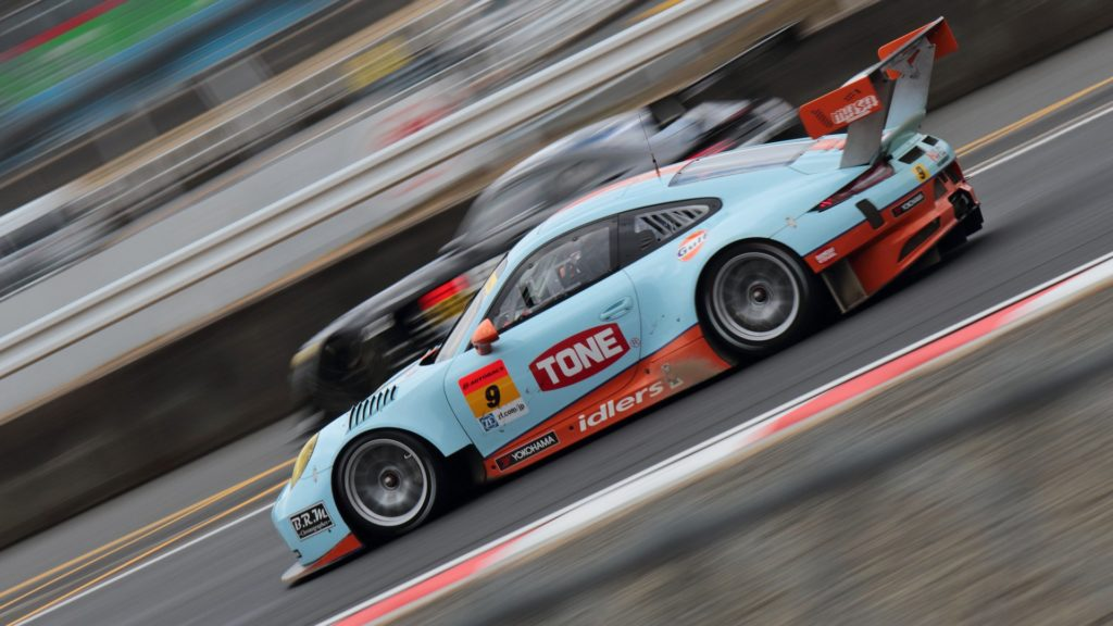 Gulf Racing Japan during Super GT pre-season testing