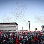 SUPER GT Podium Celebrations at Motegi