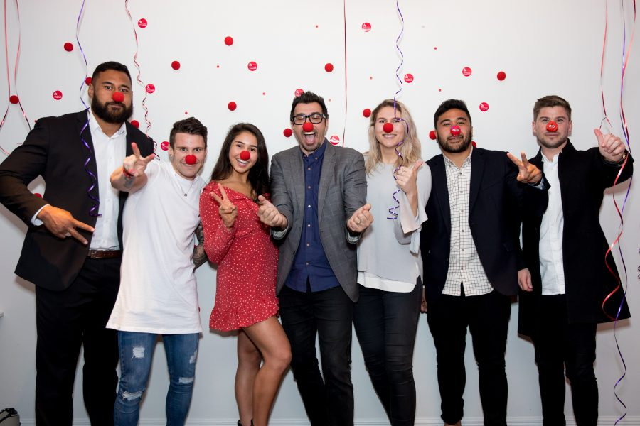 New Zealand sporting stars, celebrities and influencers get behind the CureKids Red Nose Day appeal