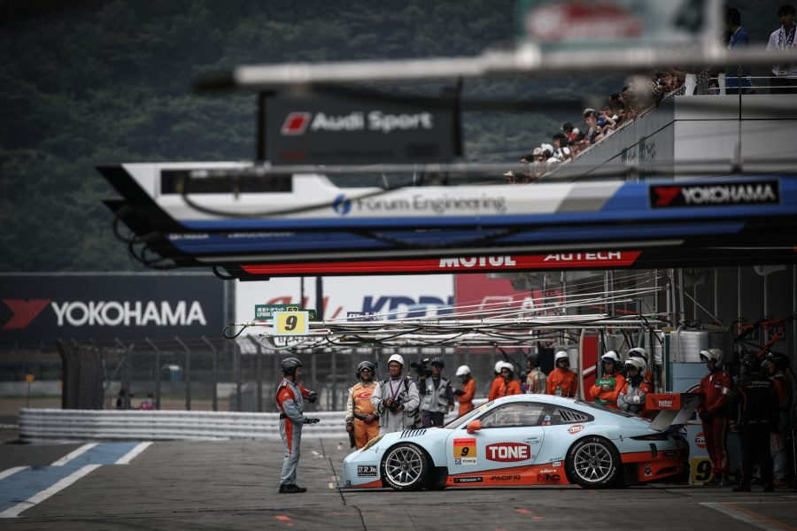 Jono Lester Career History - SUPER GT with Gulf Racing