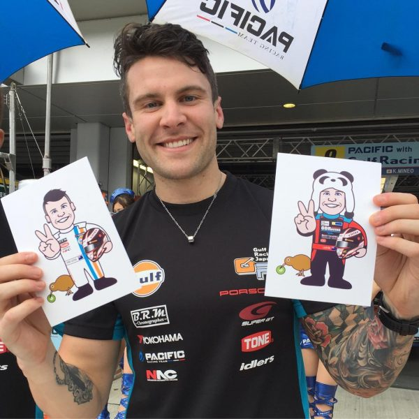 Gifts from SUPER GT Fans