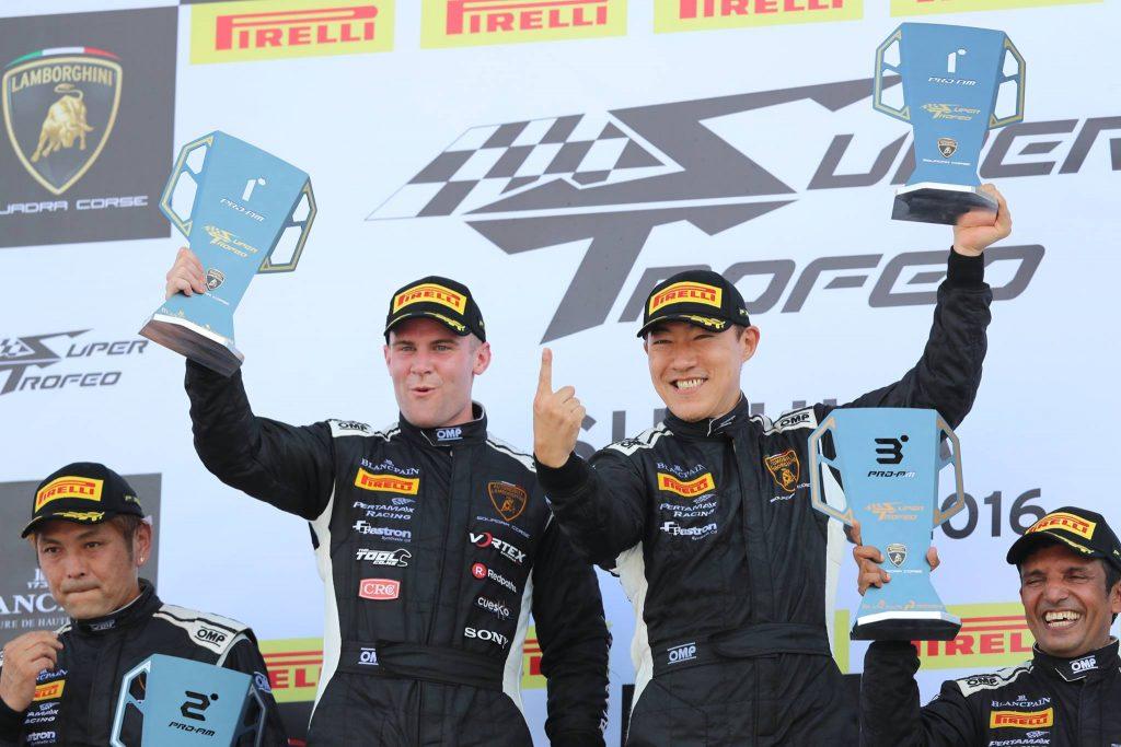 Jono Lester Career History - Lamborghini Super Trofeo Podium