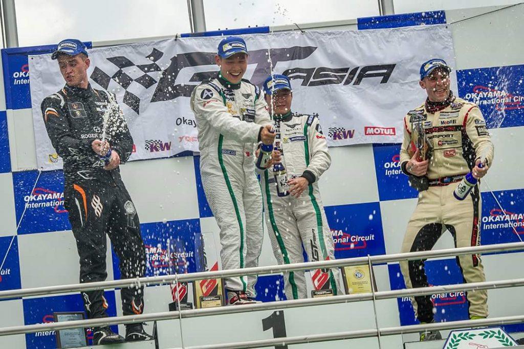 Jono Lester Career History - GT Asia Series Podium