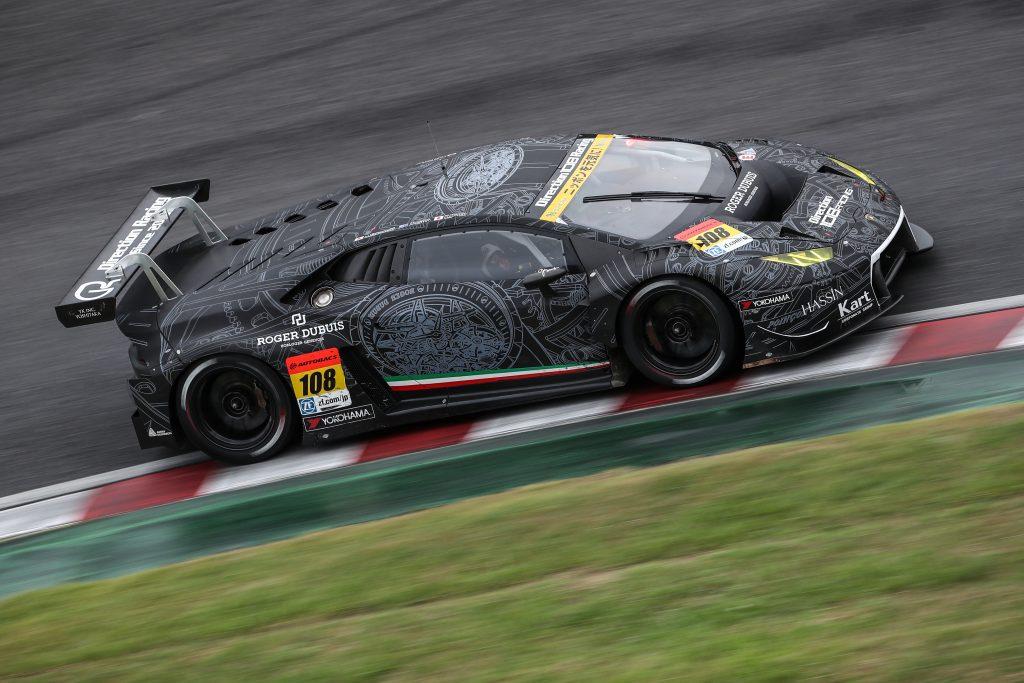 Jono Lester Career History - SUPER GT Lamborghini