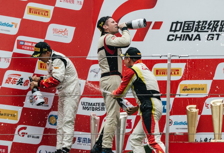 Jono Lester Career History - China GT Podium