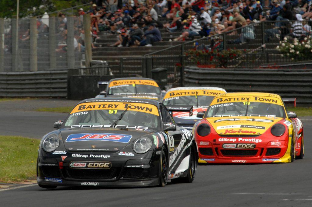 Jono Lester Career History - Porsche Cup NZ