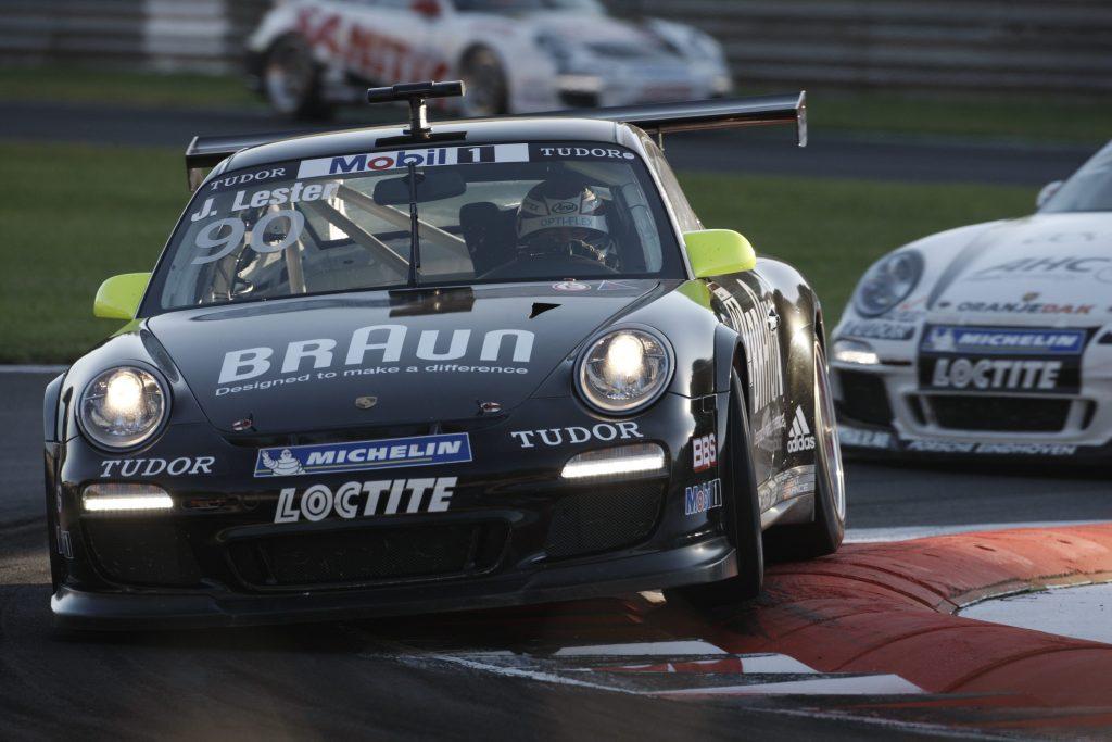 Jono Lester Career History - Porsche Mobil 1 Supercup