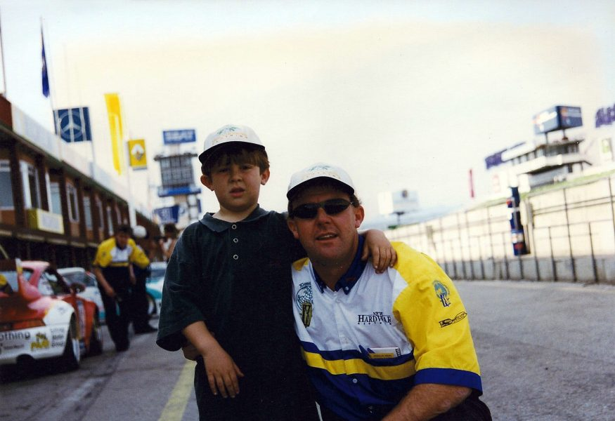 Jono Lester Career History - BRP Series with father Richard