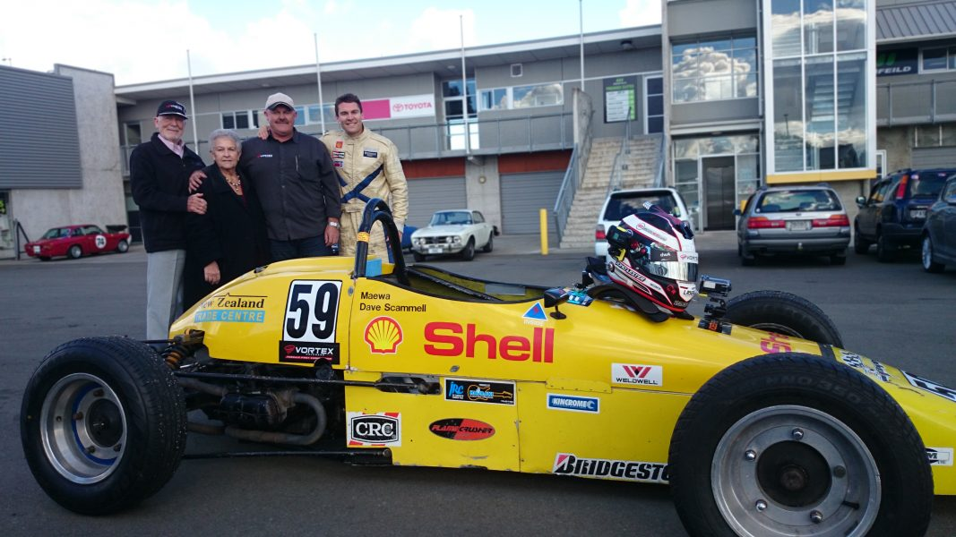 The Lester Family with the #59 Formula Vee