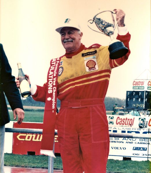 Rob Lester - 1995 NZ Formula Vee Champion