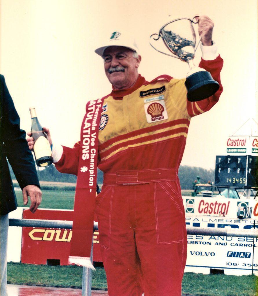 Rob Lester - 1995 NZ Formula Vee Champion