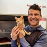 Jono Lester at the SPCA Auckland Animal Village