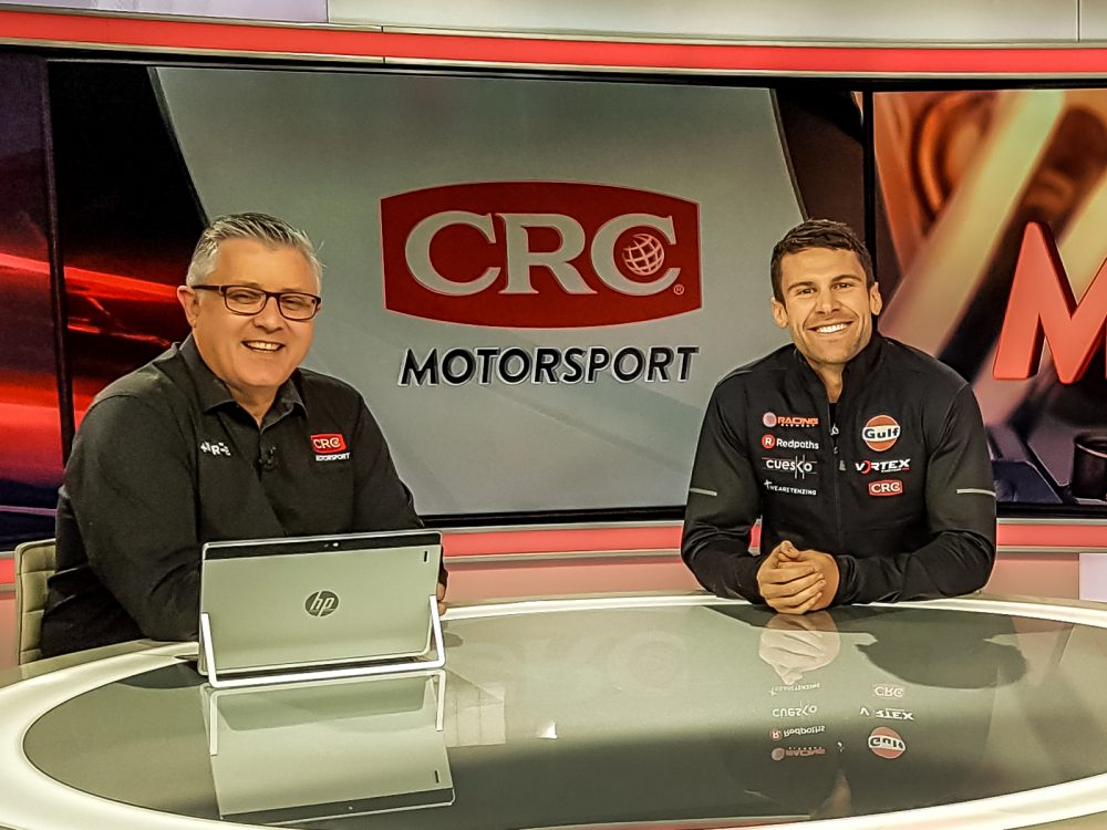 Jono Lester on CRC Motorsport