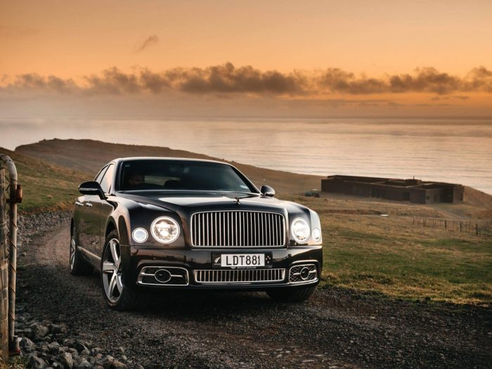Bentley Mulsanne Speed at Parihoa Farm