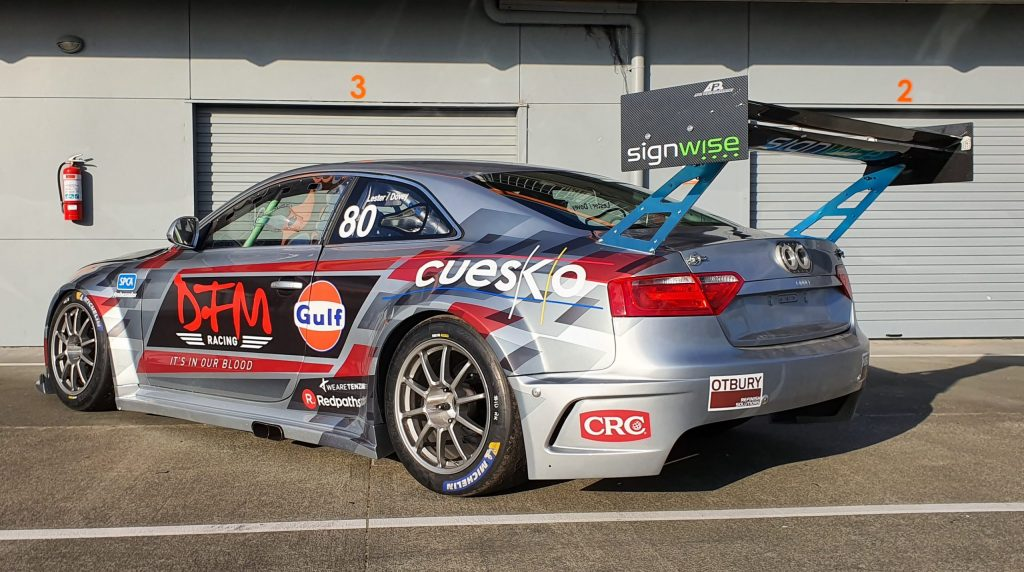 DFM Racing Audi V8 with Jono Lester
