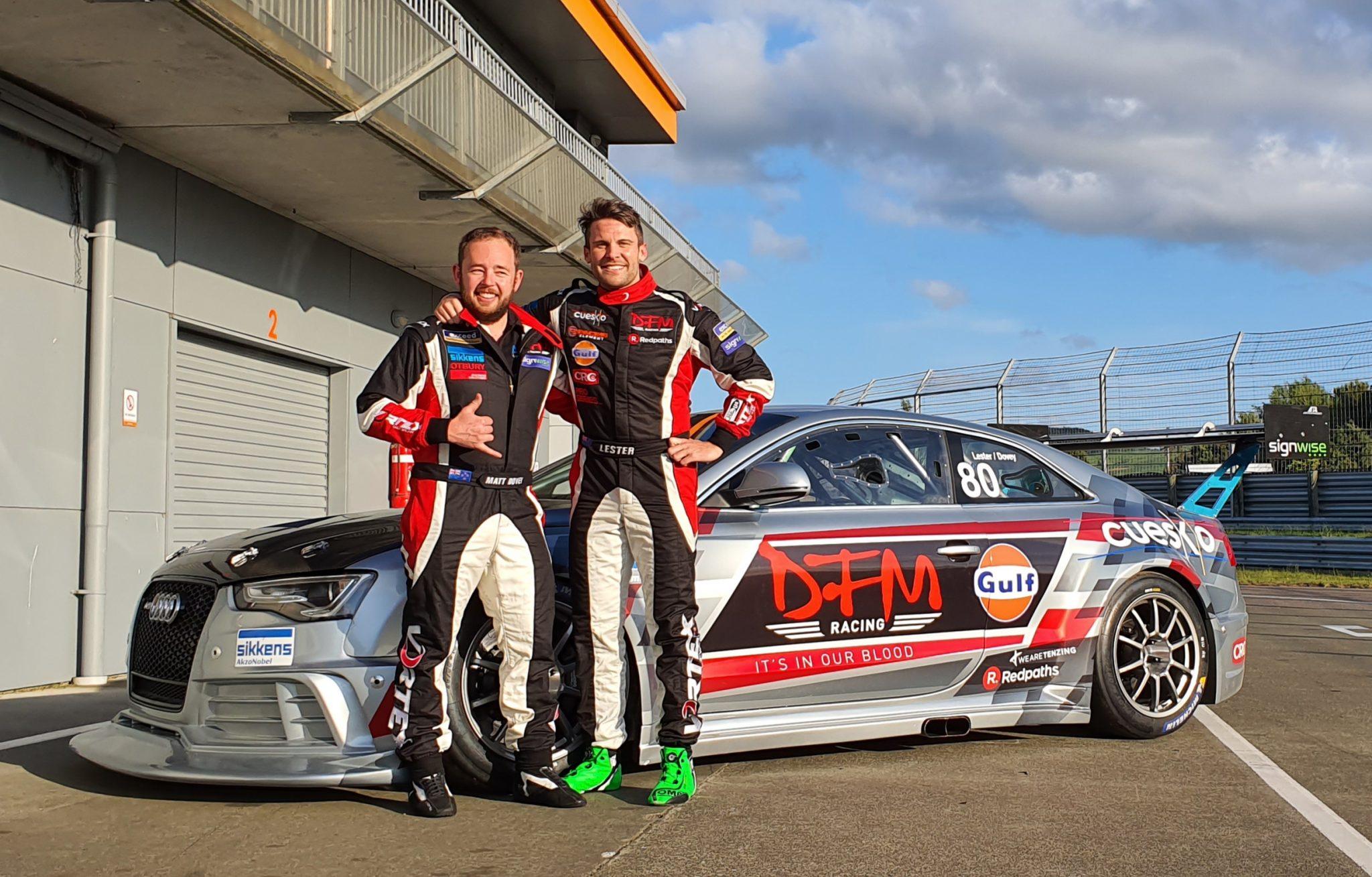 DFM Racing Audi V8 with Jono Lester