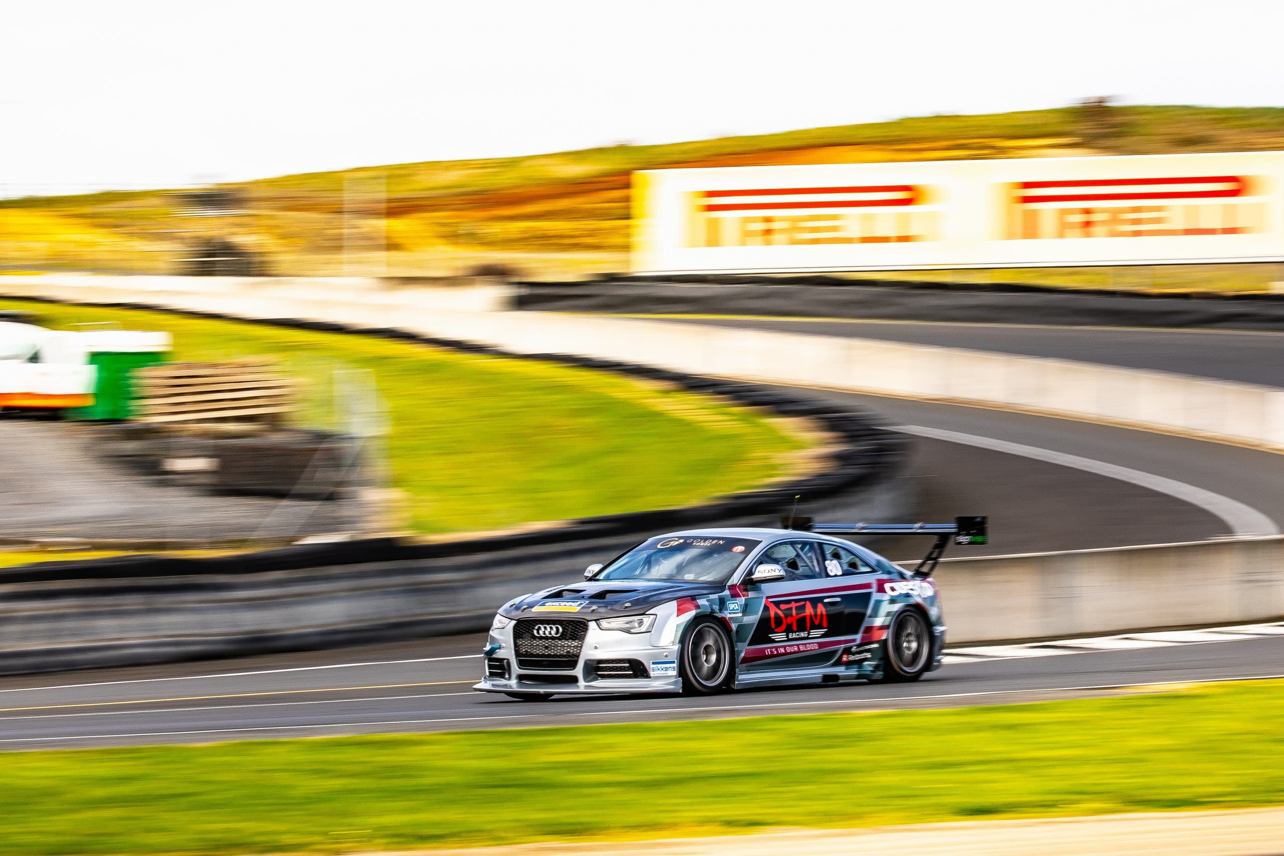 Jono Lester in the DFM Racing Audi