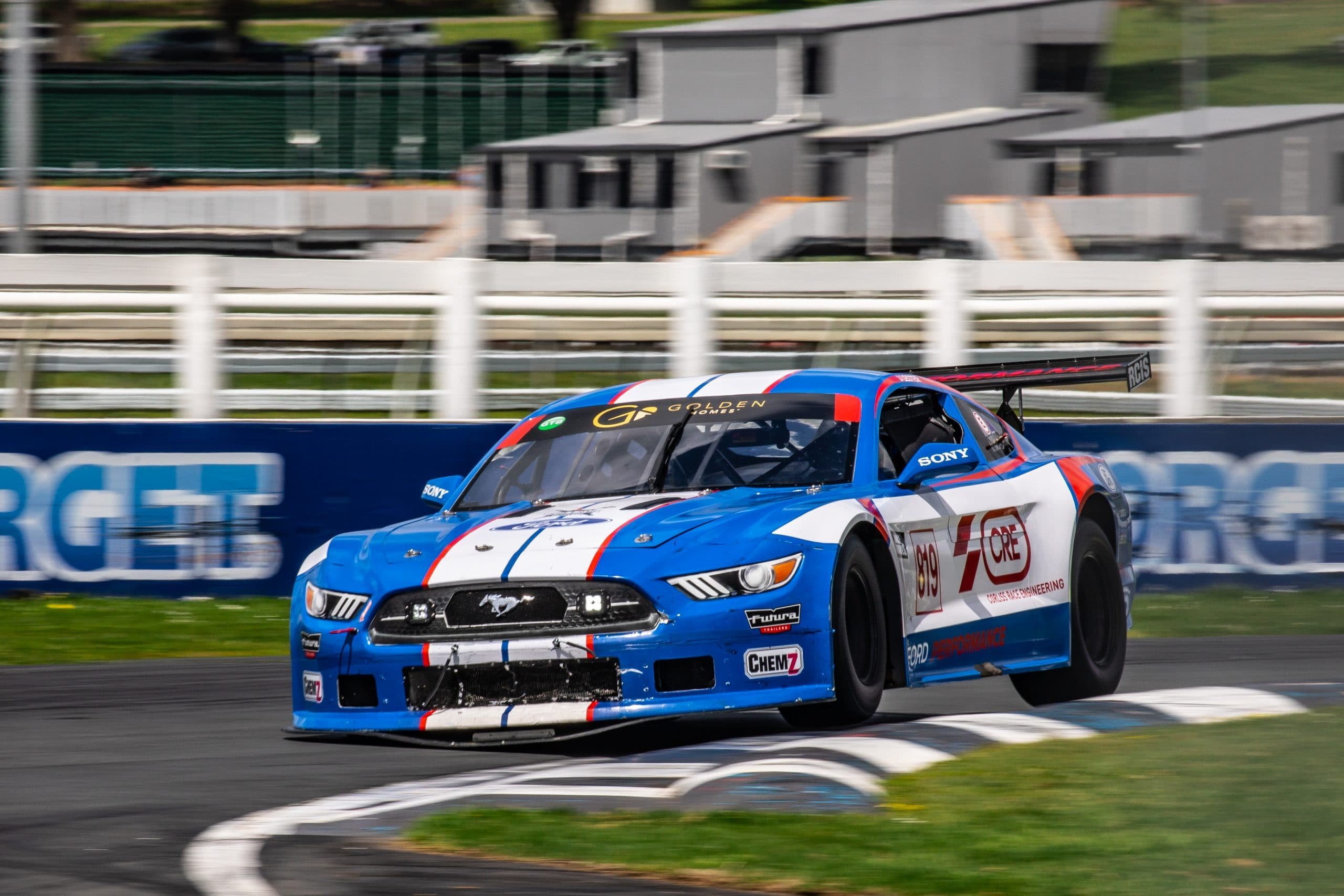 Jono Lester in the CRE Ford Performance Mustang