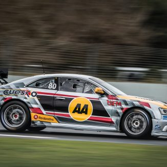 Jono Lester with The AA and DFM Racing 2021