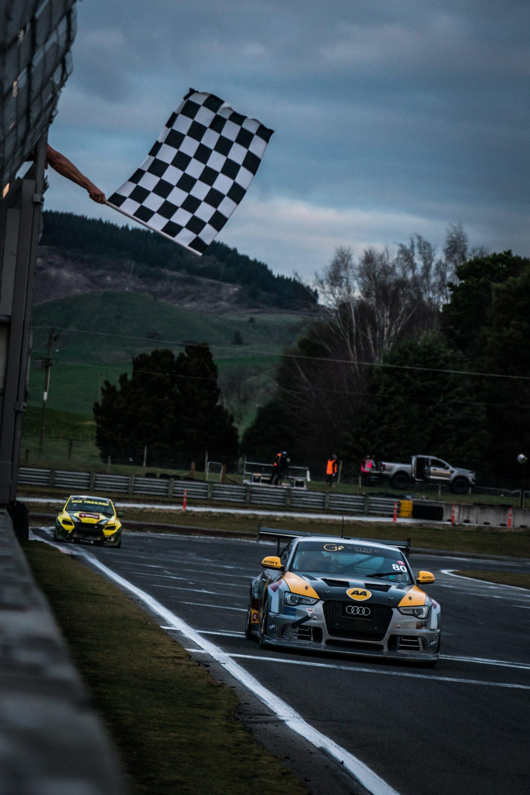 Jono Lester in the DFM Racing Audi